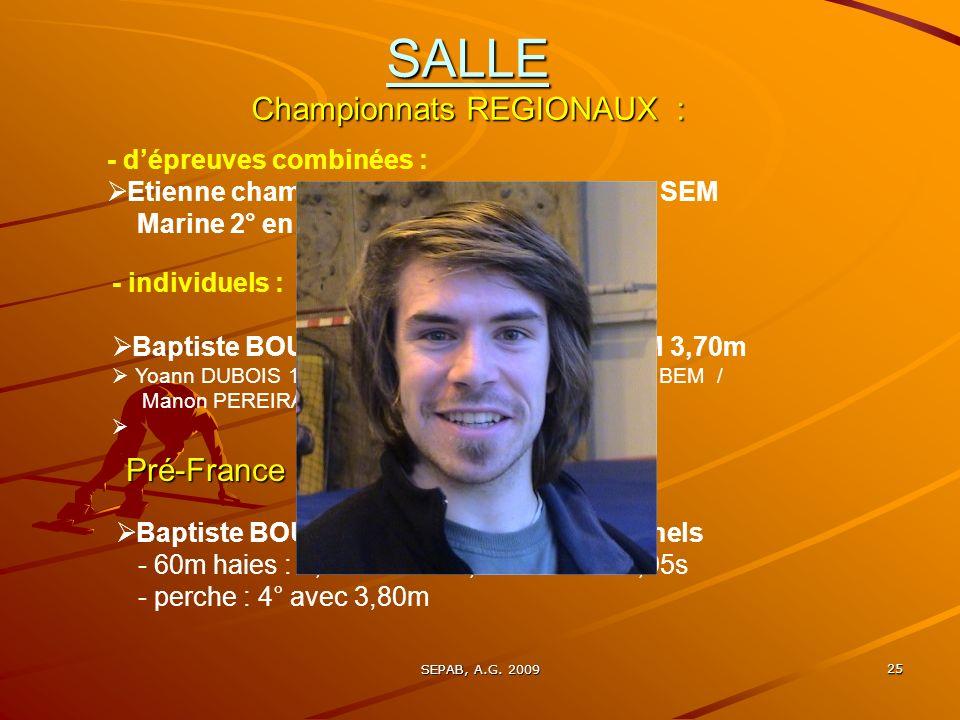 SEPAB, A.G. 2009 24 SALLE :