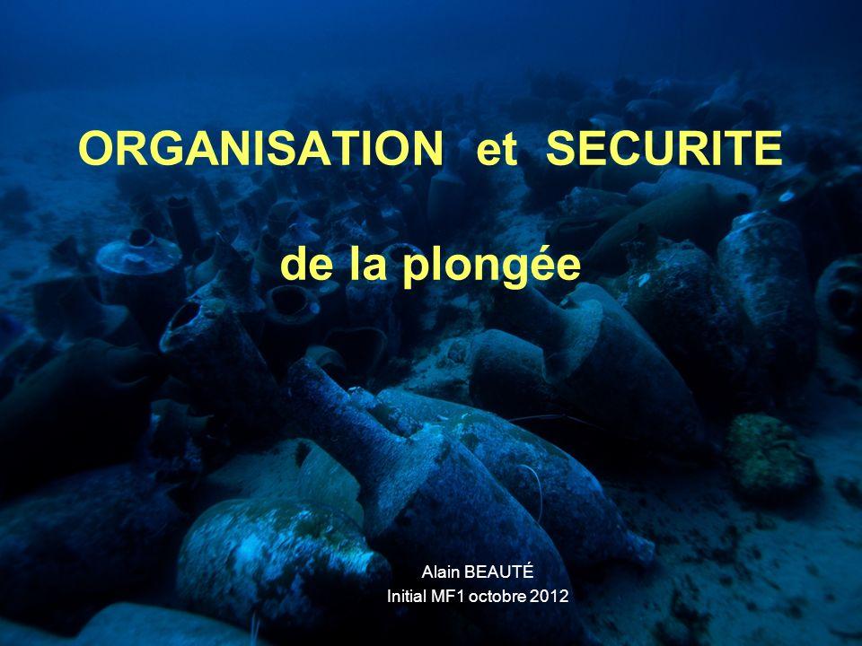 Alain BEAUTÉ2 2 – Epreuve dorganisation et de sécurité : coefficient 3 Cette épreuve à pour objectif lévaluation dune capacité à organiser notre activité dans le cadre fédéral.