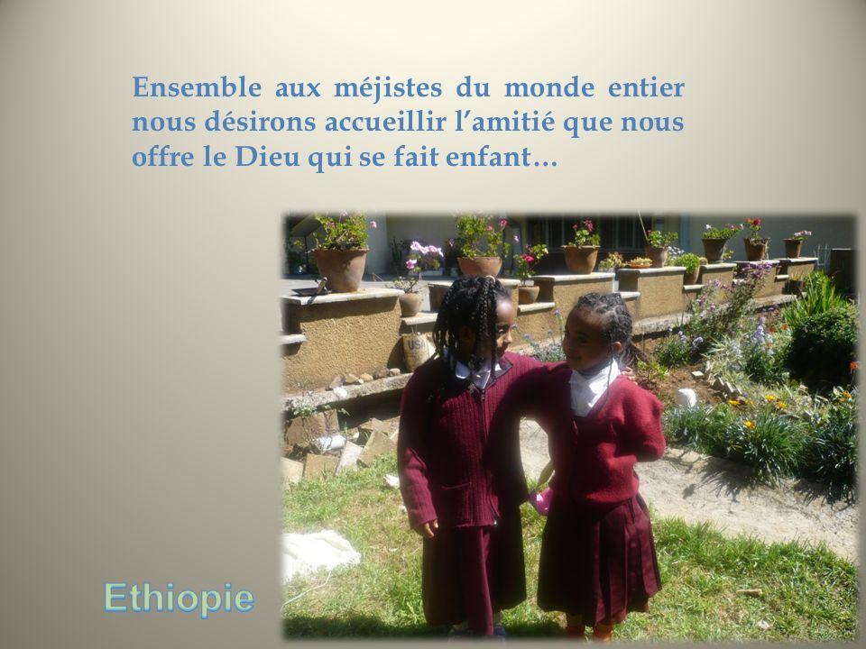 Ensemble aux méjistes du monde entier nous désirons accueillir lamitié que nous offre le Dieu qui se fait enfant…