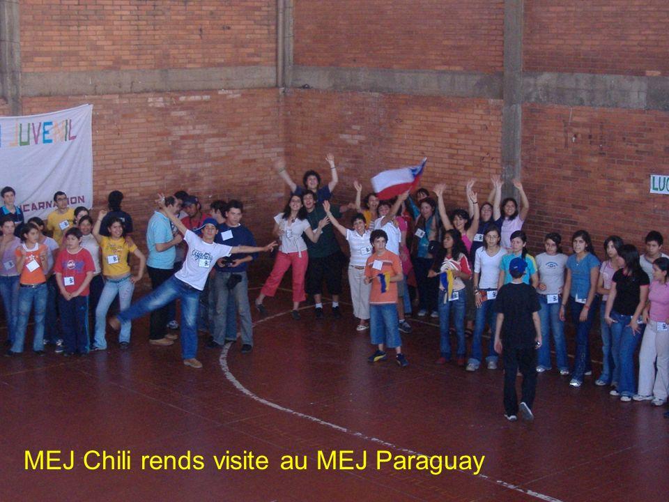 Nous avons rendez vous en Argentine le 2012 pour le Congres Mondial du MEJ! France