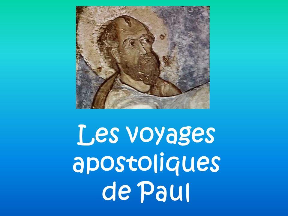 Les voyages apostoliques de Paul