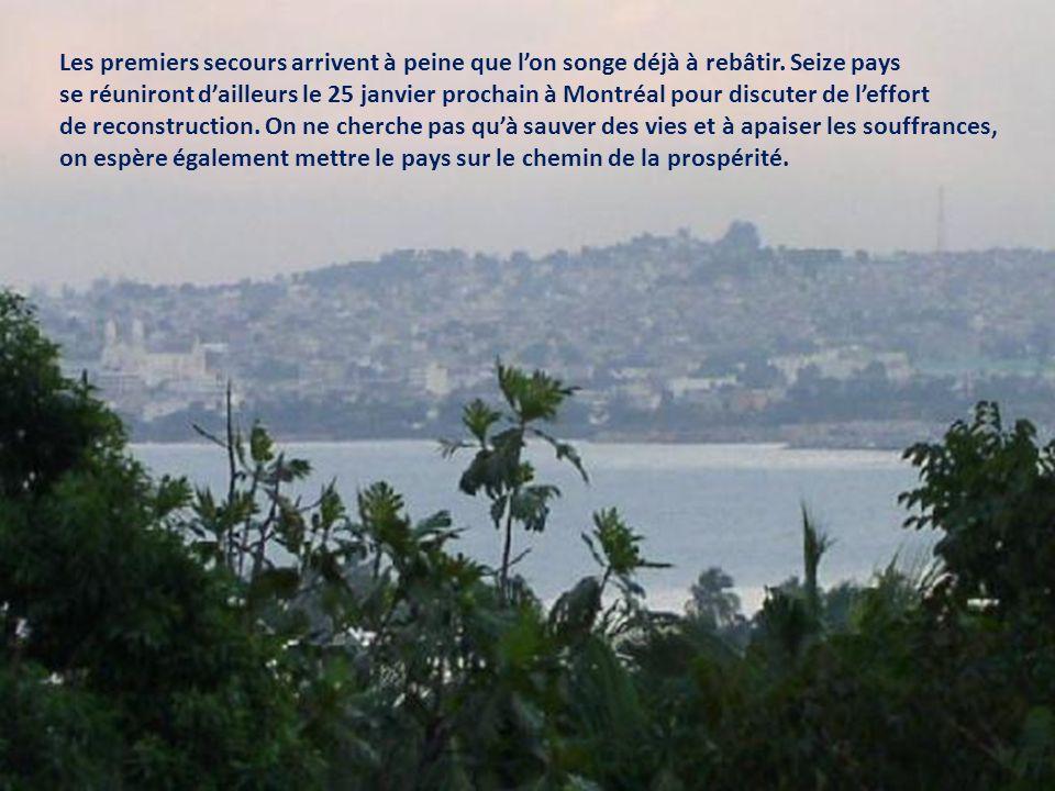 La tragédie haïtienne est inqualifiable.