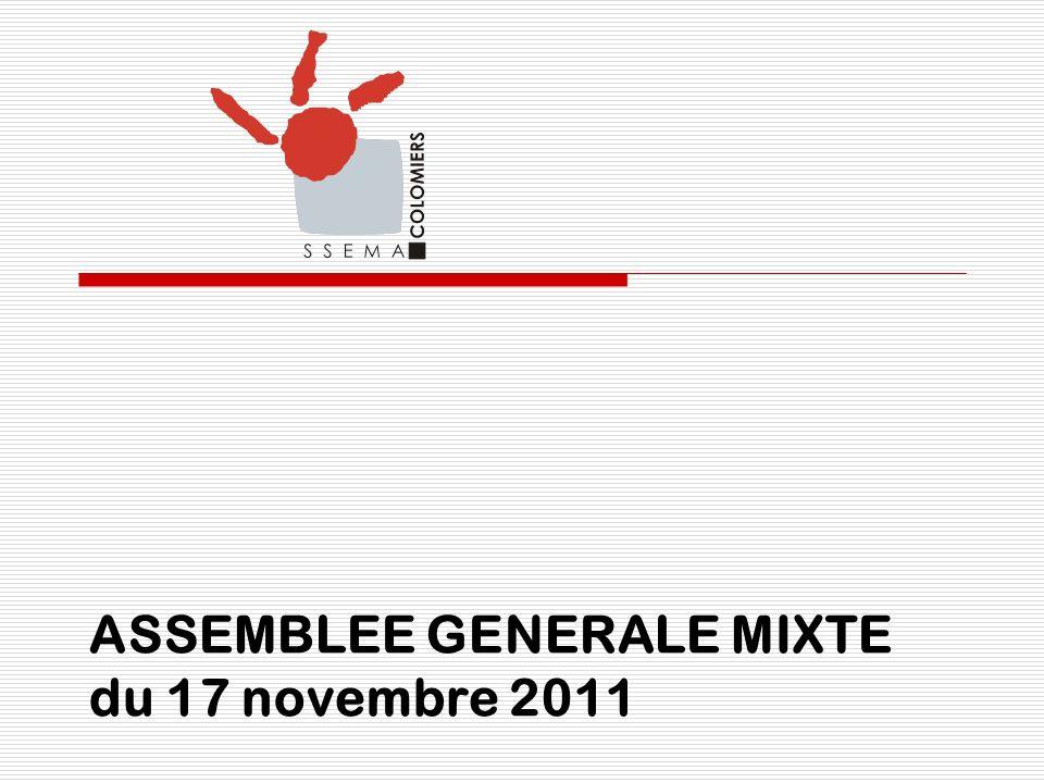 ASSEMBLEE GENERALE MIXTE du 17 novembre 2011