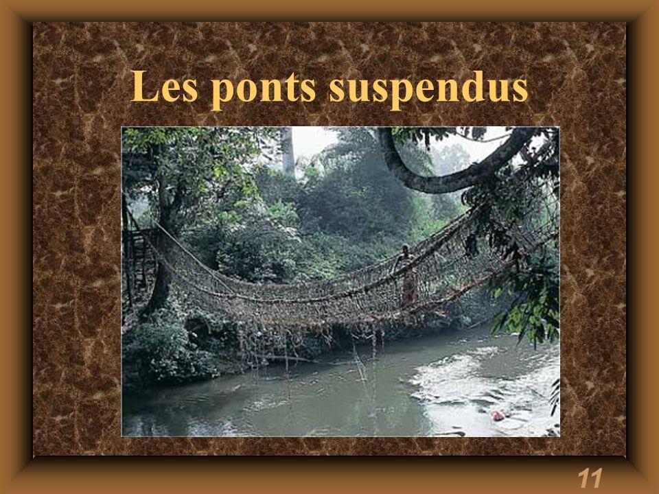 11 Les ponts suspendus