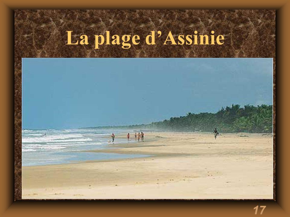 17 La plage dAssinie