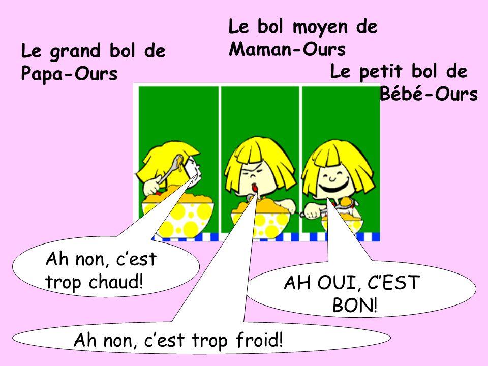 Aaiieee!!! AU SECOURS! crie Boucle dOr