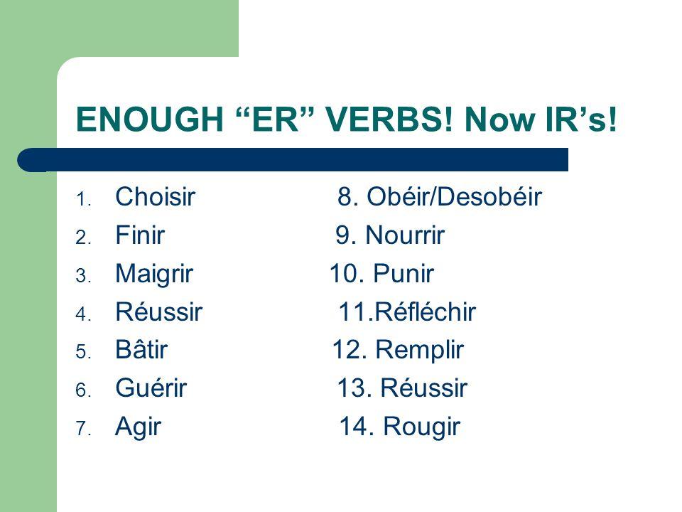 LETS PRACTICE! 1.Je ___________(parler) anglais. Et toi? 2. Il ____________(regarder) la télé. 3. Nous_______________ (étudier)le français. 4. Vous __