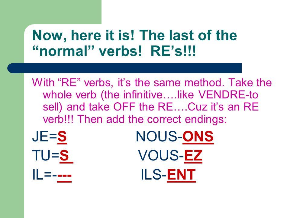 Your turn again! 1. Je_____________ un livre. (choisir) Translate: 2. Il _______________une maison. (bâtir) Translate: 3. Elles _____________ les enfa