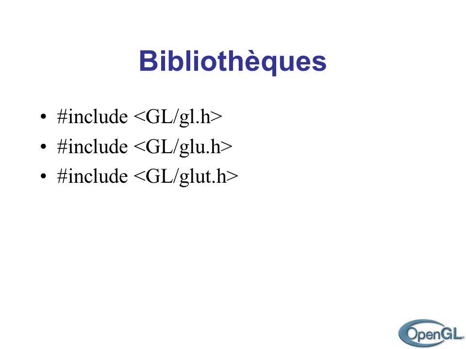 Bibliothèques #include