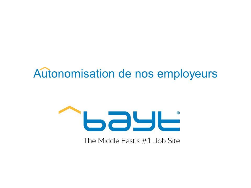 Autonomisation de nos employeurs