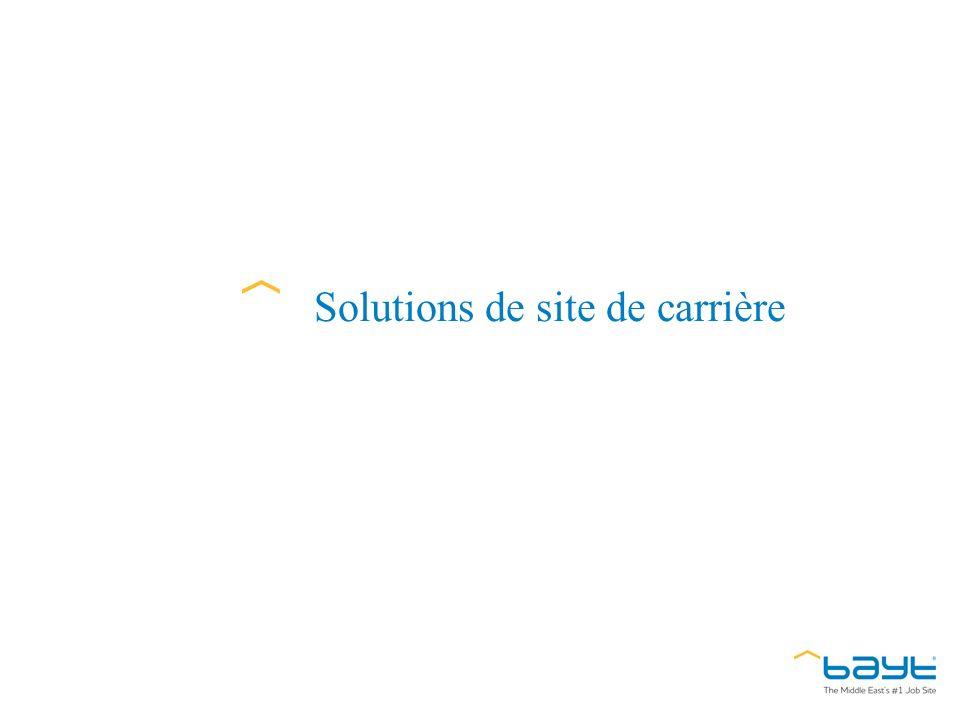 Solutions de site de carrière