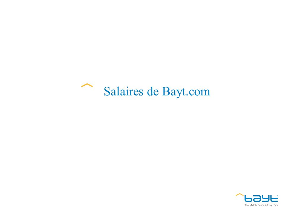 Salaires de Bayt.com