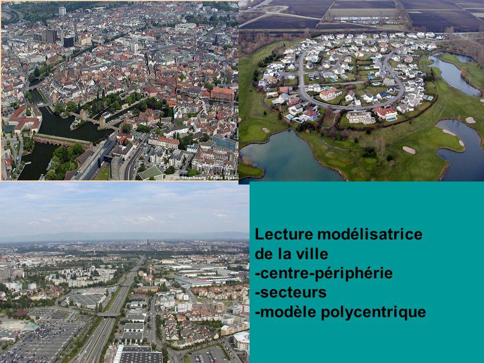 Lecture de la ville comme espace social -différenciations sociales au sein de lespace urbain -processus : évitement, sécession urbaine, relégation, gentrification… -cohésion/fragmentation urbaine…