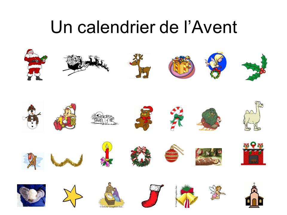 Un calendrier de lAvent