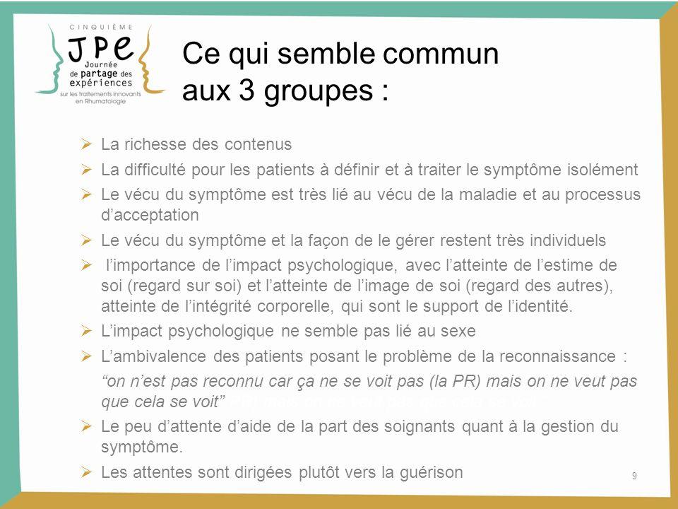 10 Conclusion : comment aider les patients .