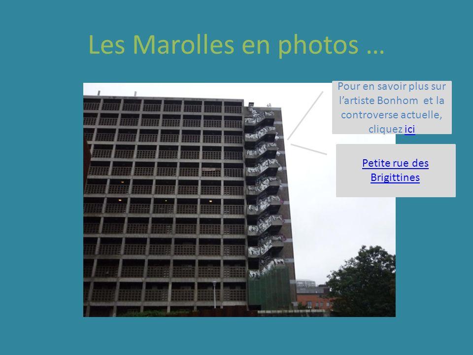 Pour en savoir plus sur lartiste Bonhom et la controverse actuelle, cliquez iciici Petite rue des Brigittines