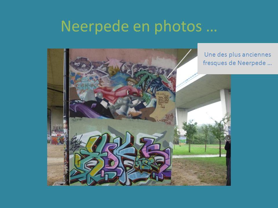 Neerpede en photos … Fresque en cours de réalisation …