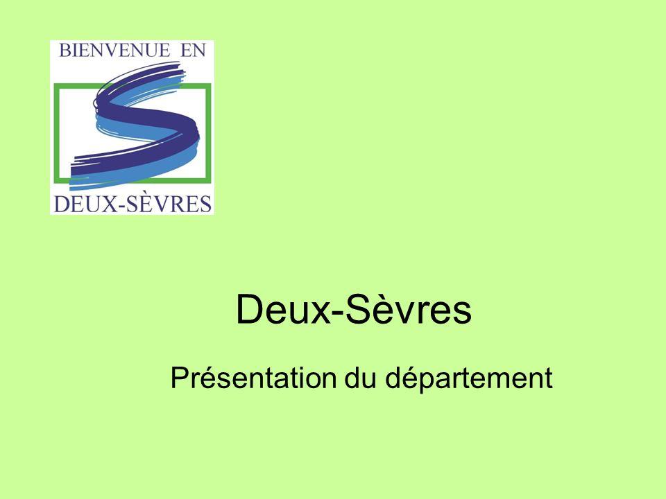 Deux-Sèvres Présentation du département