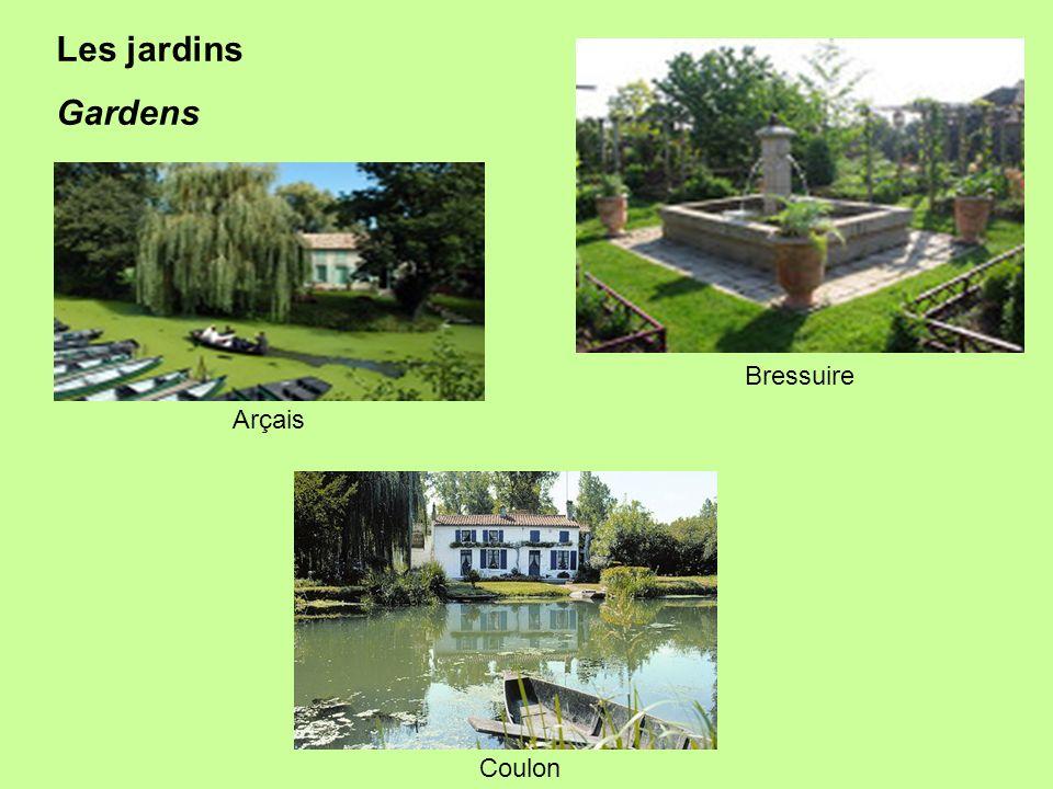 Arçais Les jardins Gardens Bressuire Coulon