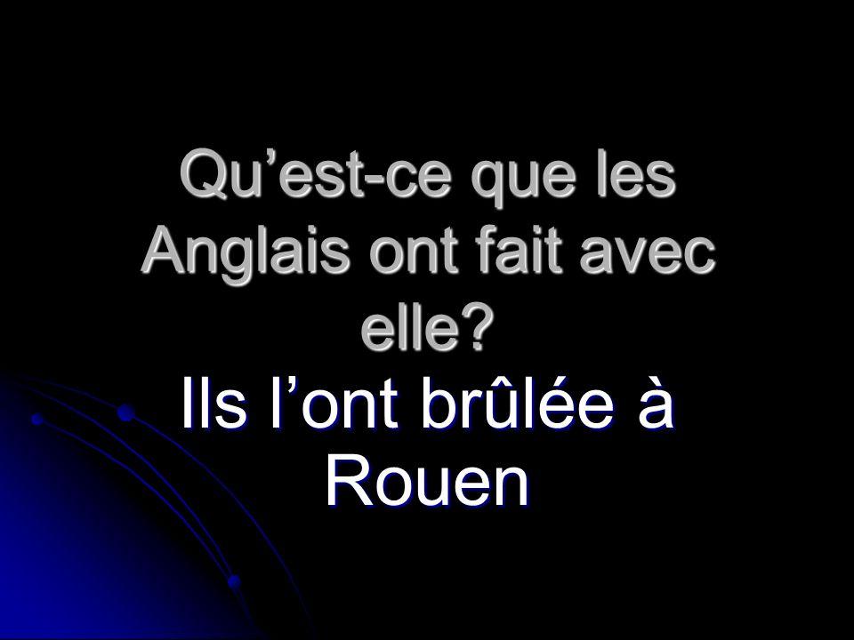 Elle ____(recevoir) laide du peuple français en 1426. a reçu