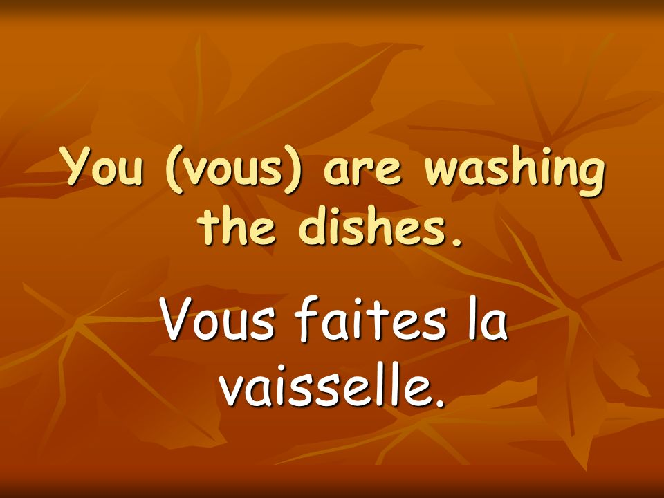a dishwasher a dishwasher un lave-vaisselle