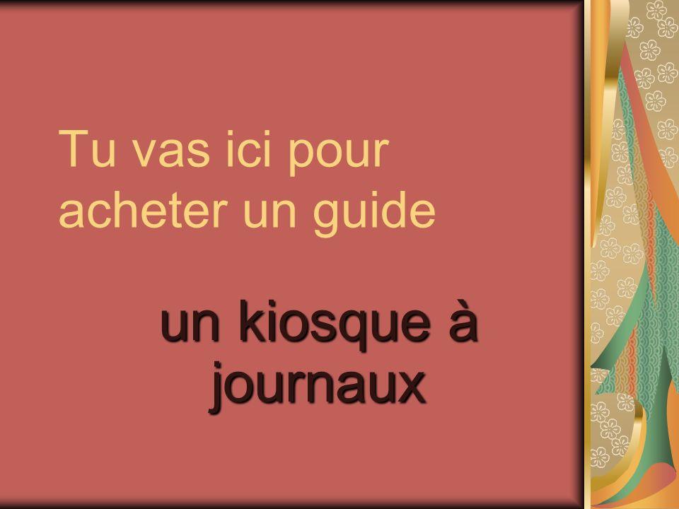 Quels deux guides sont utiles à Paris? Pariscope et LOfficiel des Spectacles