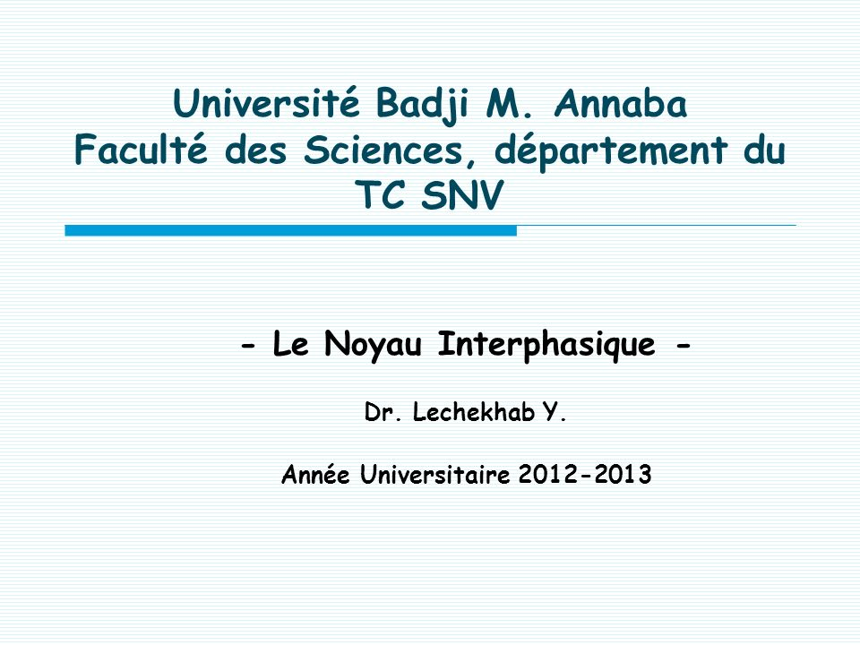 Université Badji M.