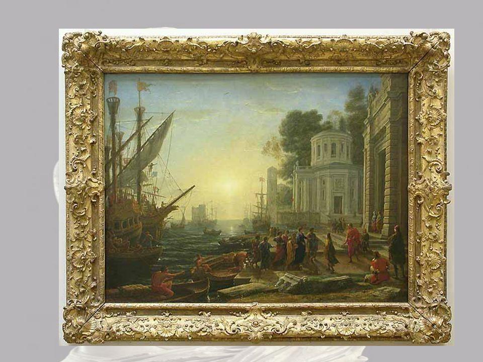 © Musée du Louvre/A. Dequier - M. Bard Ce document est rattaché à : Le Débarquement de Cléopâtre à Tarse Claude GELLÉE dit Claude LORRAIN Inv. 4716