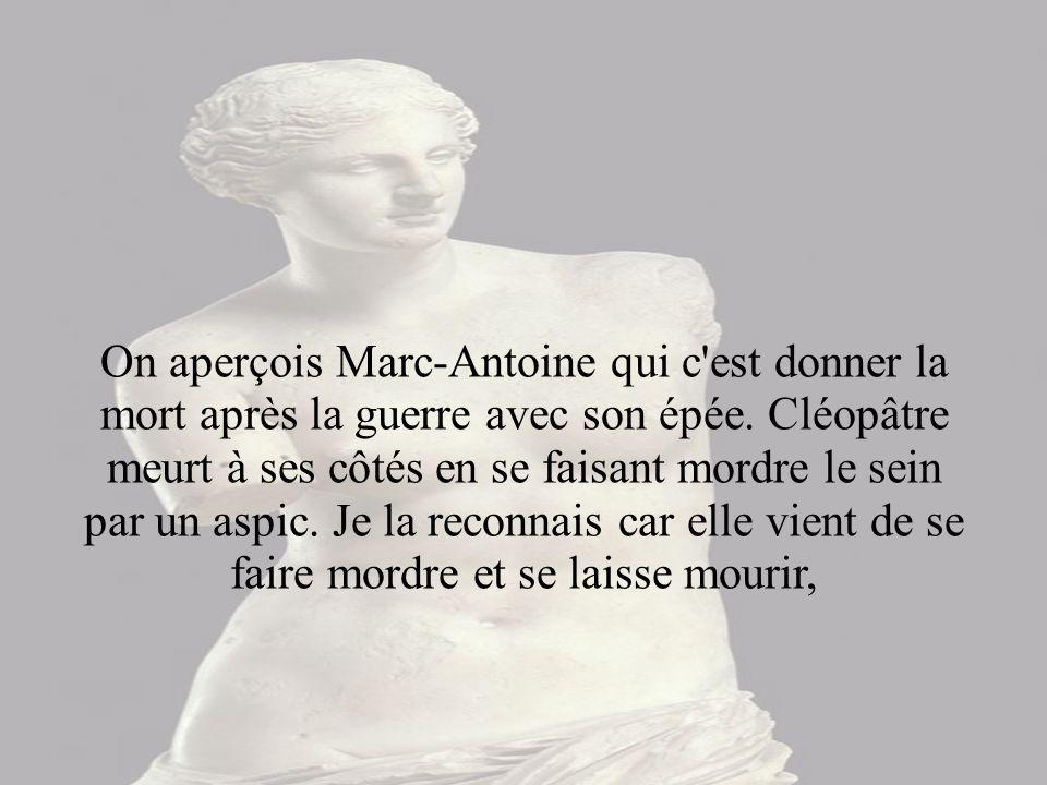© Musée du Louvre/A. Dequier - M. Bard Ce document est rattaché à : La Mort de Cléopâtre Alessandro TURCHI INV. 703