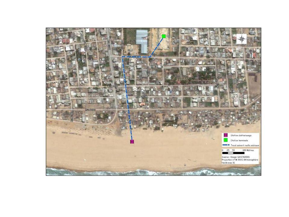 Zone dimplantation du projet : enjeux env et sociaux La zone du projet est située dans le 12 ème Arrondissement de Cotonou, essentiellement les quartiers de FIYENON I et KIPE qui vont recevoir respectivement le site pour latterrissement du CSM au niveau de la plage et la station datterrissement.
