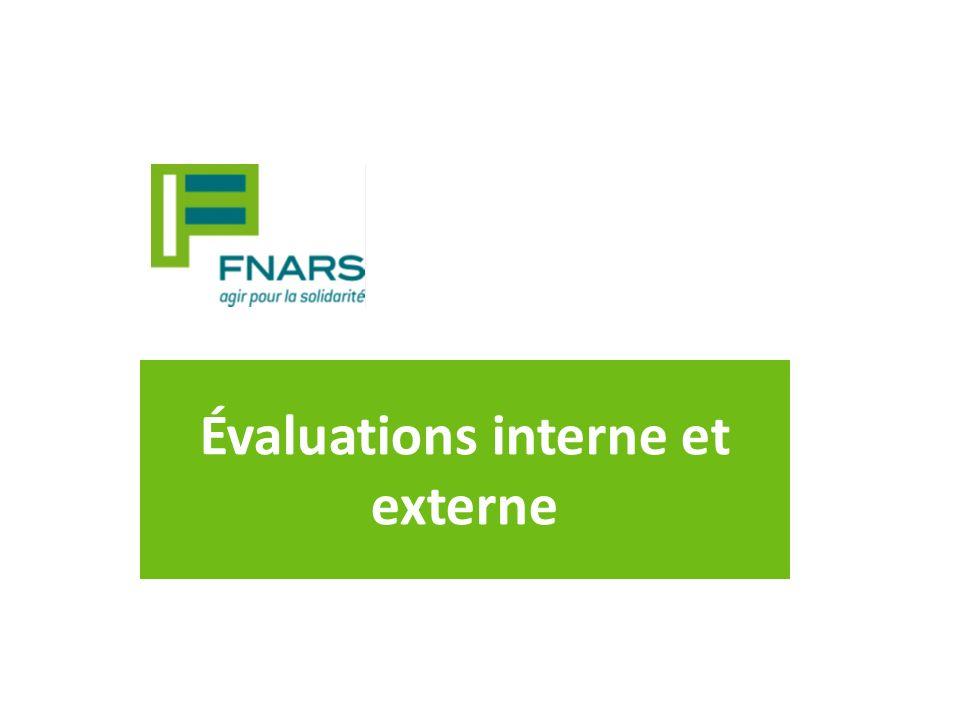Évaluations interne et externe