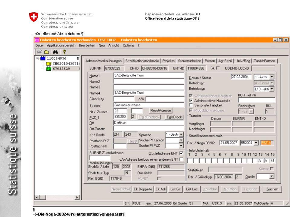 16 Implementation NACE / ISIC Fabio Tomasini Département fédéral de lintérieur DFI Office fédéral de la statistique OFS