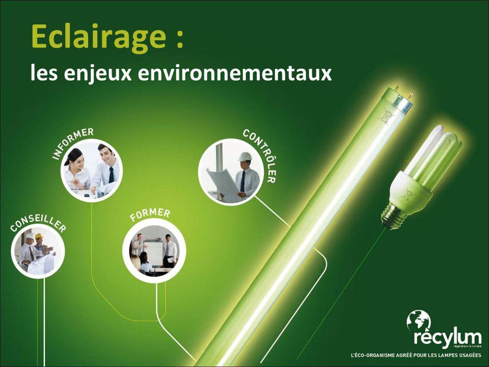 Eclairage : les enjeux environnementaux
