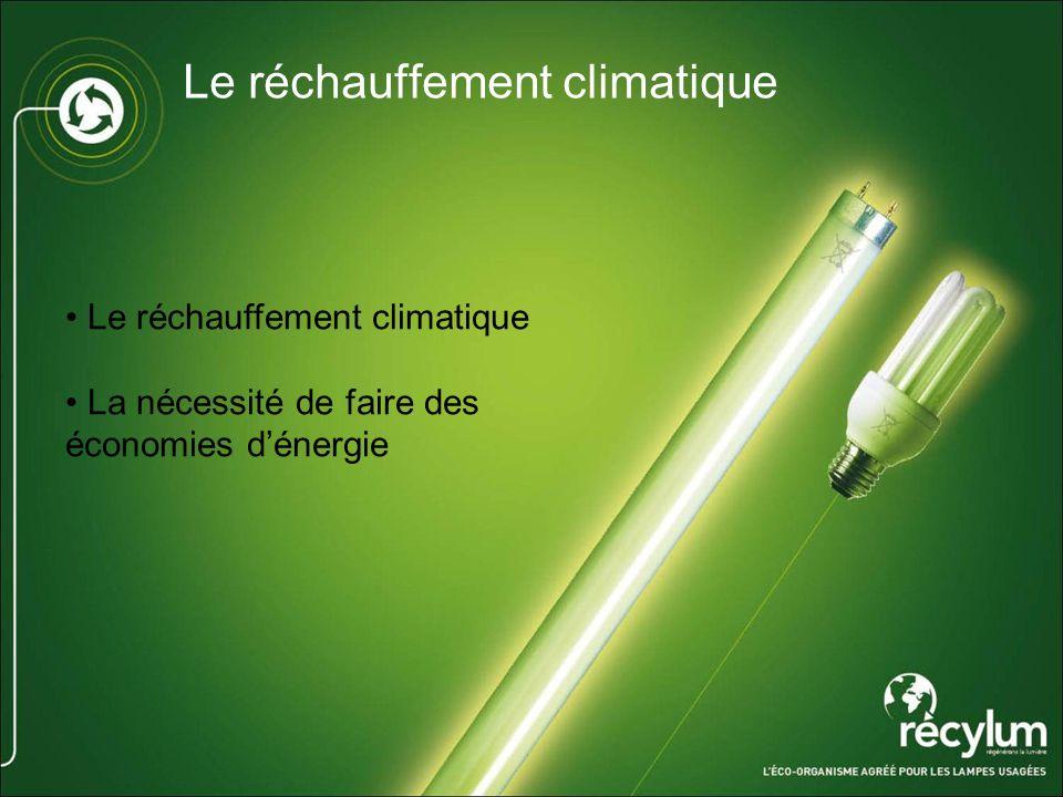 Le réchauffement climatique La nécessité de faire des économies dénergie
