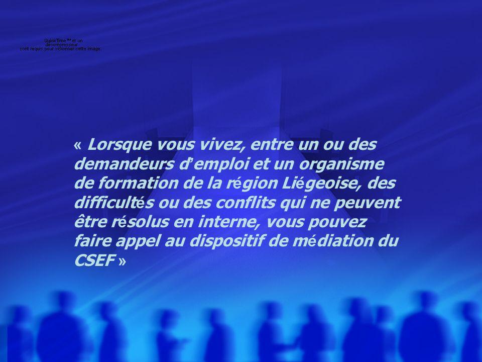 CESF, Liège le 3 décembre 20105 Pourquoi une administration qui fonctionne avec des règles valables pour tous met-elle en place un dispositif qui accompagne au cas par cas .