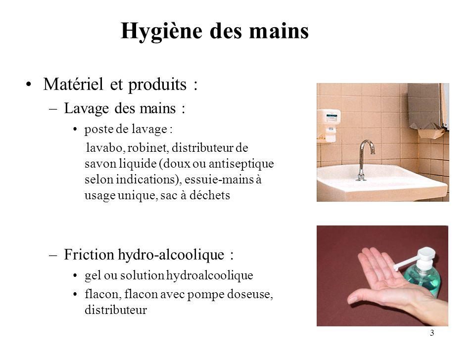 4 Hygiène des mains