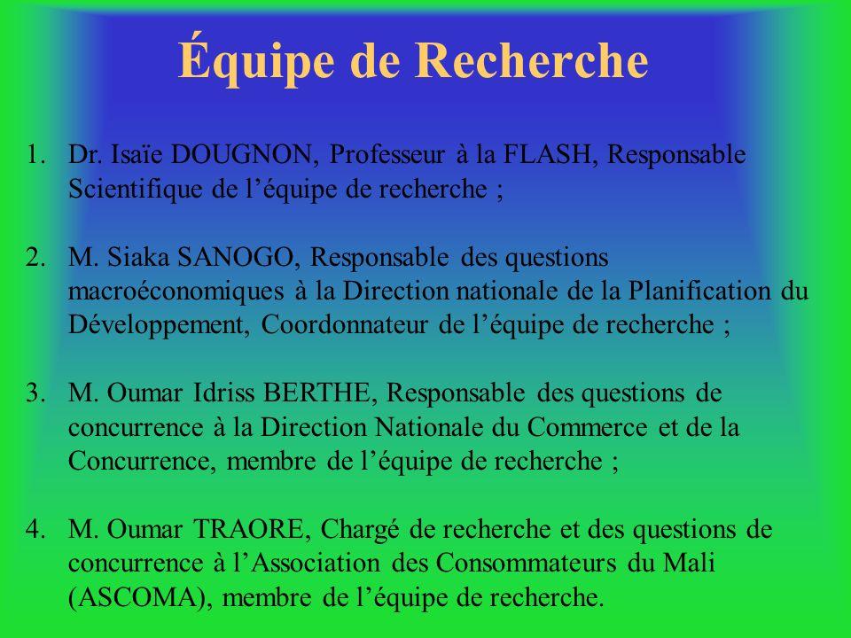 THEME : « vers des régimes efficaces de la concurrence dans les pays dAfrique de lOuest par le renforcement des capacités » REPUBLIQUE DU MALI Un Peup