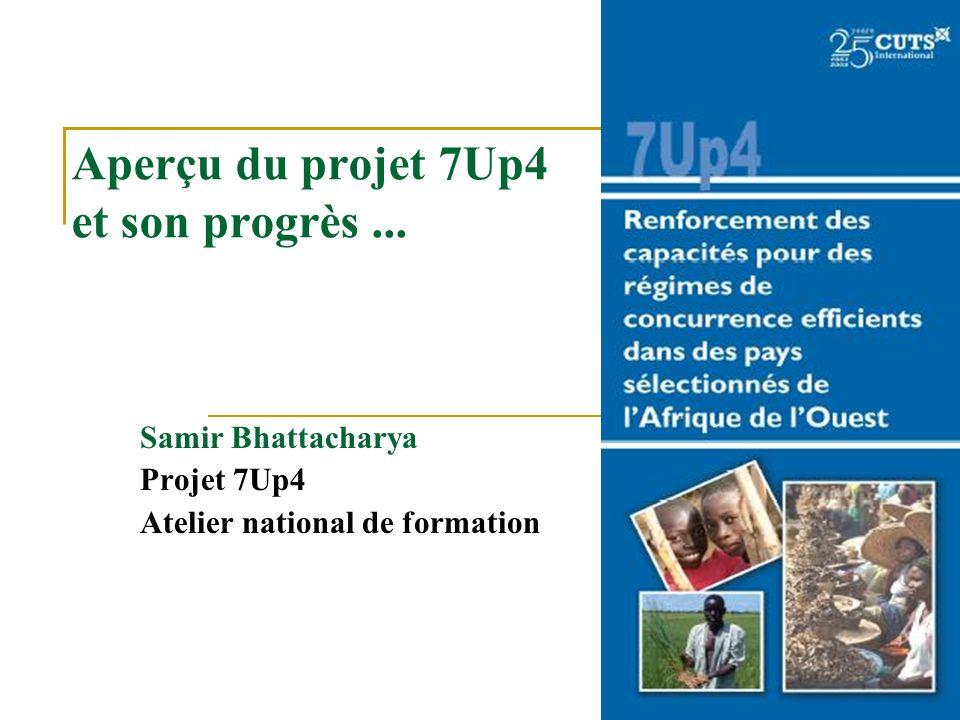 Aperçu du projet 7Up4 et son progrès...