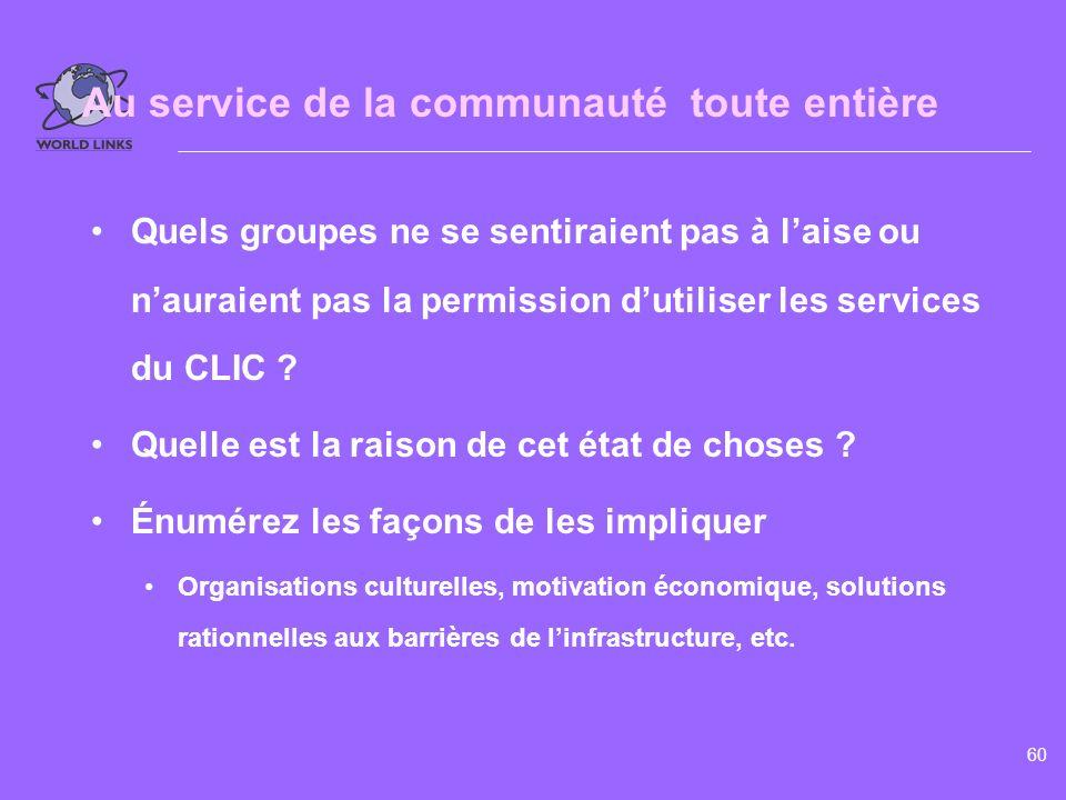 www.world-links.org Module 5.2 Au service de la communauté toute entière