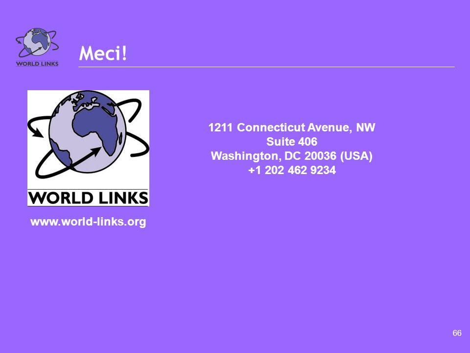 www.world-links.org Cérémonie de clôture Jour 3 – Après-midi Module 6.2 Temps requis : 60 Minutes