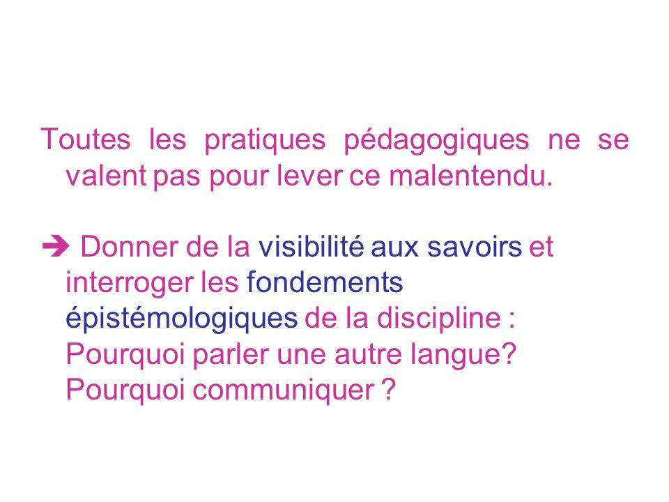 b) Pour transcender les particularismes, développer le rapport cognitif au langage Marie-Hélène JACQUES – Maître de Conférences Sciences de lEducation - IUFM 79