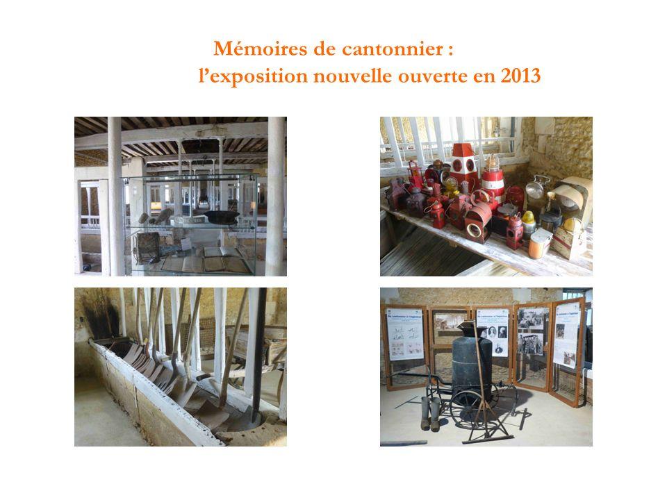 Mémoires de cantonnier : lexposition nouvelle ouverte en 2013