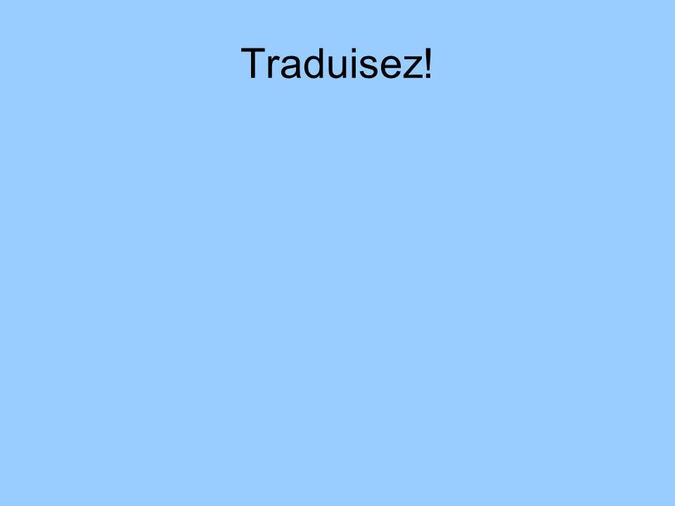 Traduisez!