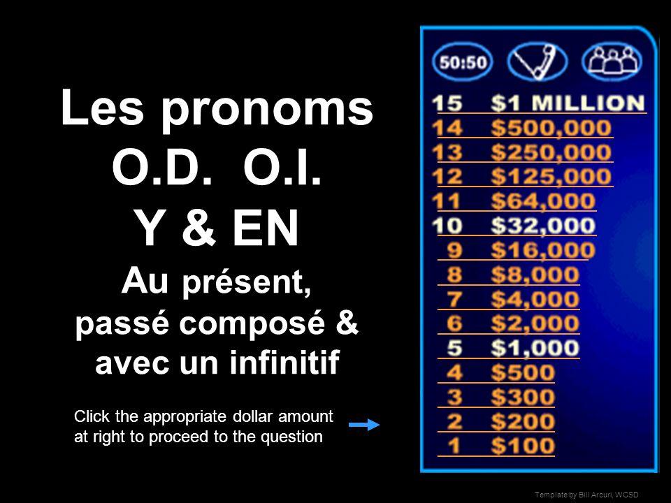 Les pronoms O.D.O.I.