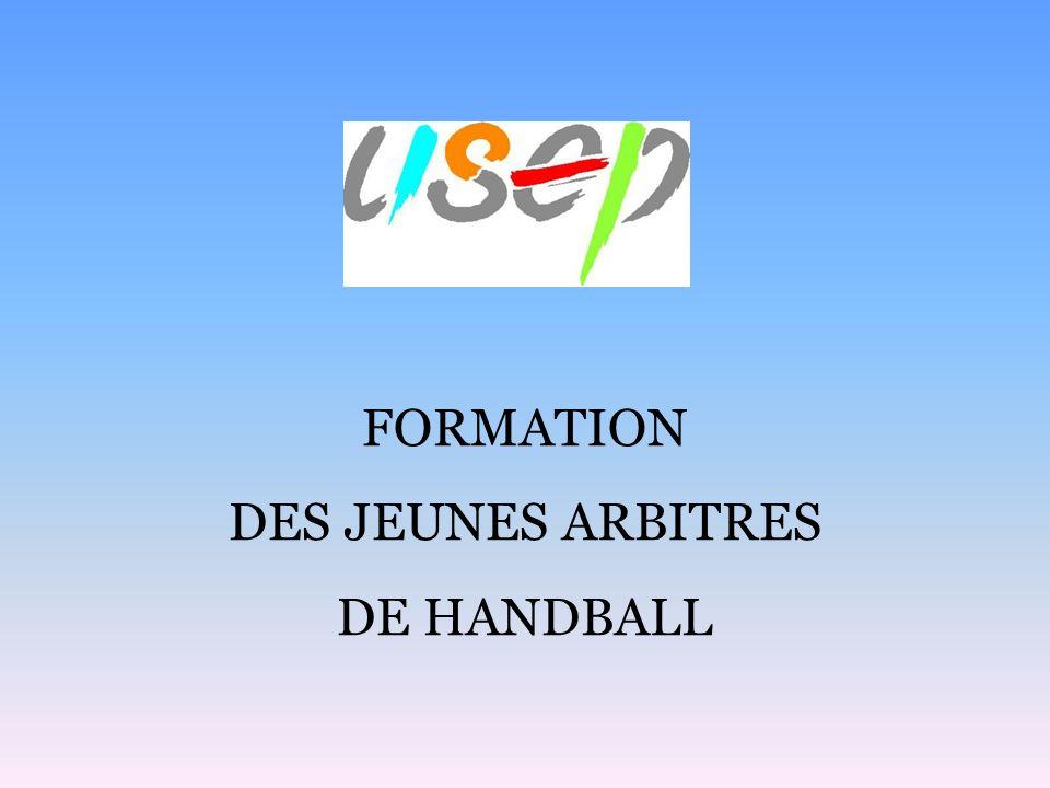 FORMATION DES JEUNES ARBITRES DE HANDBALL