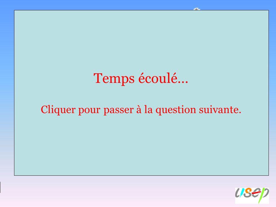 Réponse A : une faute. Réponse B : une reprise de dribble. Réponse C : un but. Question n°9 : Que sest-il passé si larbitre réalise ce geste? Temps éc