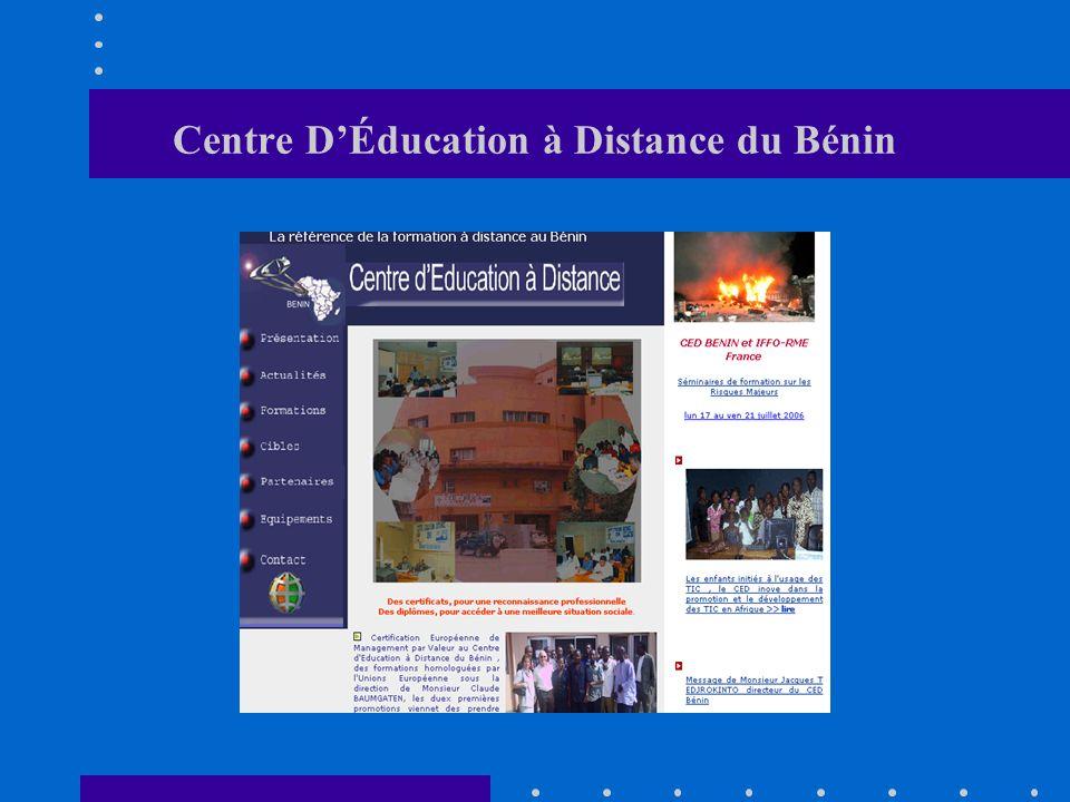Centre DÉducation à Distance du Bénin