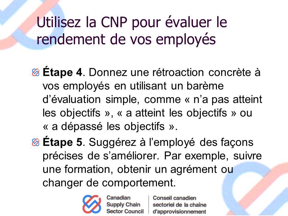 Utilisez la CNP pour évaluer le rendement de vos employés Étape 4.
