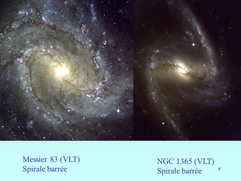 6 Formation de barres étoiles gaz