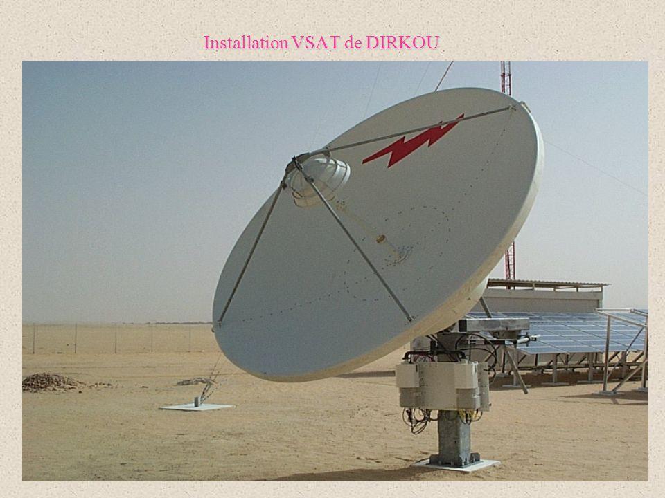 4 Installation VSAT de DIRKOU